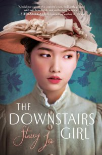 book cover of The Downstairs Girl, by Stacey Lee. Published by G. P. Putnam & Sons | recommended on BooksYALove.com