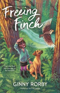 cover of Freeing Finch, by Ginny Rorby. Published by Starscape (Macmillan) | recommended on BooksYALove.com