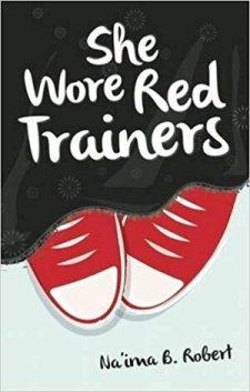 book cover of She Wore Red Trainers, by Na'ima B. Robert, published by Kube Books | recommended on BooksYALove.com