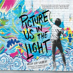 CD cover of Picture Us in the Light, by Kelly Loy Gilbert, Read by James Chen.  Published by Dreamscape | recommended on BooksYALove.com
