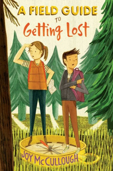 book cover of A Field Guide to Getting Lost, by Joy McCullough. Published by Atheneum Books for Young Readers   recommended on BooksYALove.com