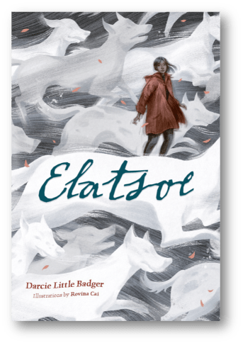of Elatsoe, by Darcie Little Badger, illustrated by Rovina Cai. Published by Levine Querido | recommended on BooksYALove.com