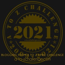 logo of 2021 Blogging from A to Z April Challenge