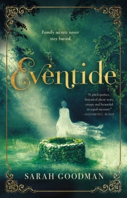 book cover of Eventide, by Sarah Goodman. Published by Tor Teen | recommended on BooksYALove.com