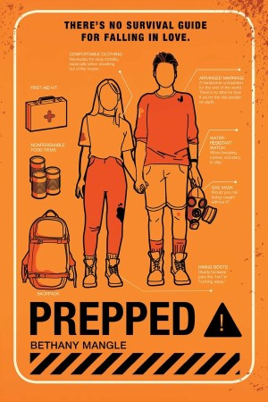 book cover of Prepped, by Bethany Mangle. Published by Margaret K. McElderry/Simon Schuster | recommended on BooksYALove.com