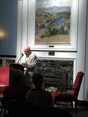 Marc Harshman, poet laureate of West Virginia.
