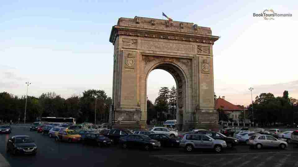 The Arch of Triumph in Bucharest