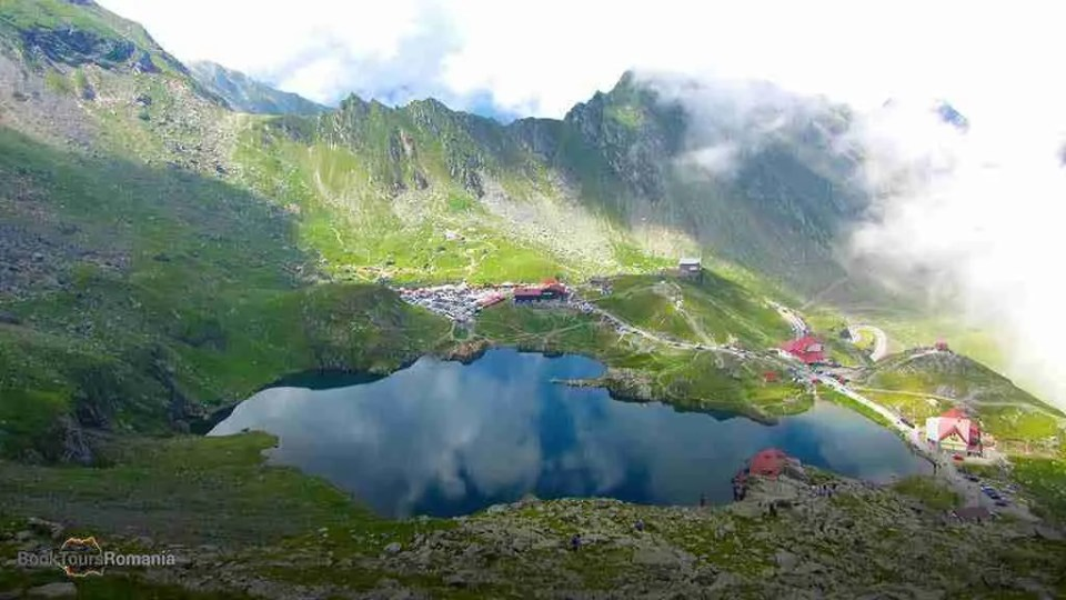 Balea lake overview