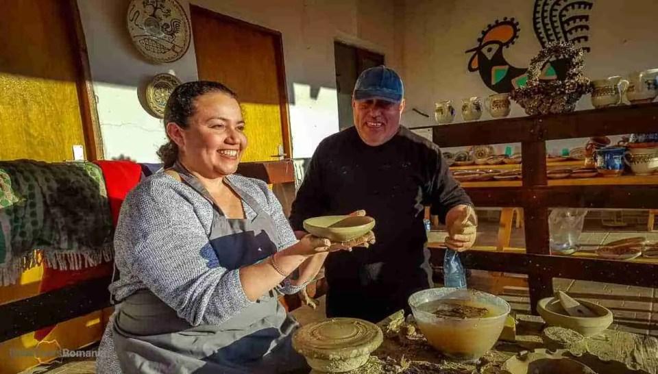 Horezu pottery workshop