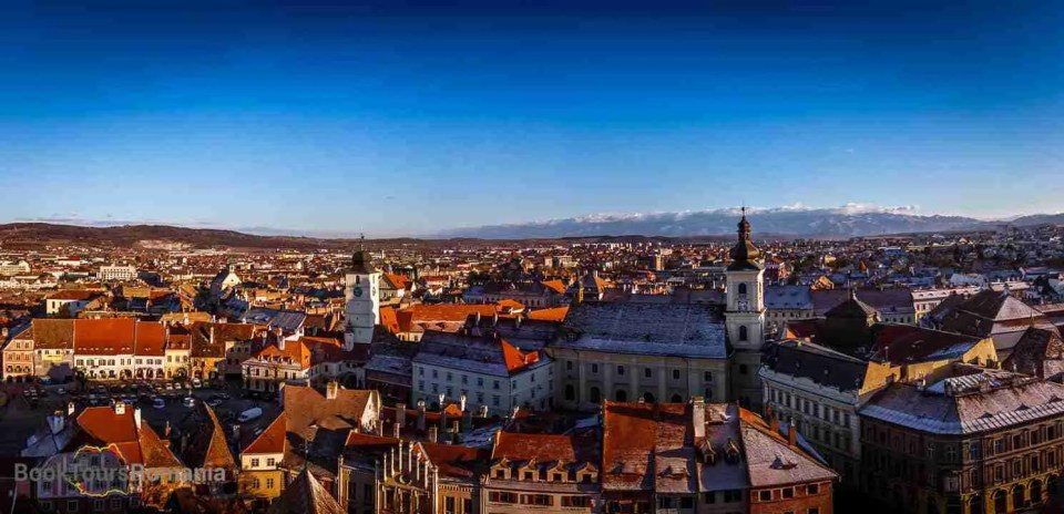 The old town of Sibiu