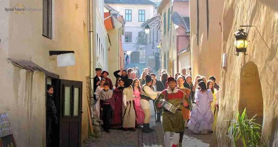 Medieval festival in Sighisoara