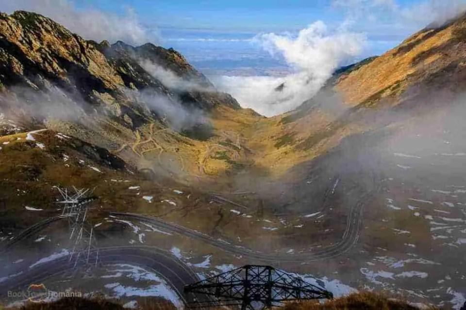 Foggy day on Transfagarasan
