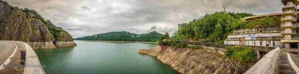 Vidraru Dam on Transfagarasan Road