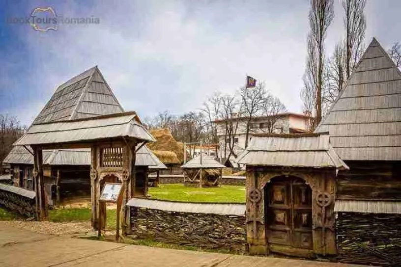 Bucharest sightseeing: village museum