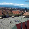 Overview of the Big Square - Sibiu
