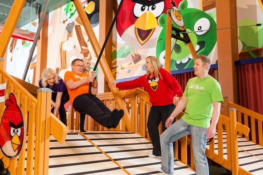 Тампере и парк развлечений Angry Birds