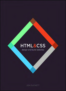 Download HTML and CSS by Jon Duckett