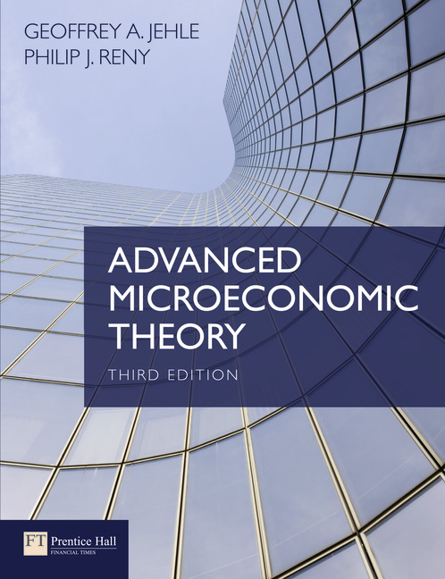advanced microeconimic theory