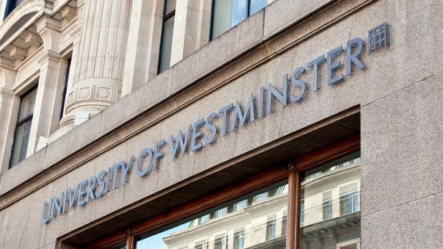 Full Funded Scholarship At University Of Westminster – UK