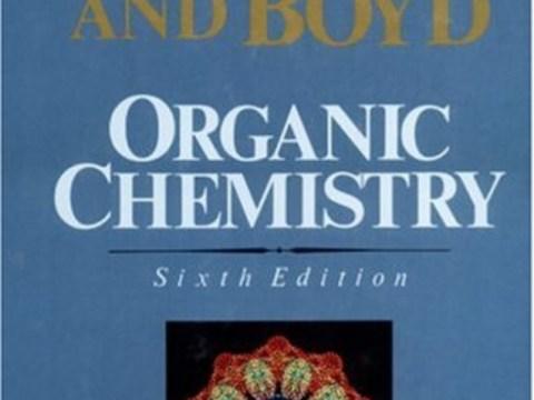 Organic Chemistry by Robert T. Morrison & Robert N. Boyd