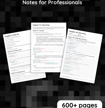 Download C++ Notes for Professionals
