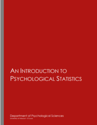 An Introduction to Psychological Statistics