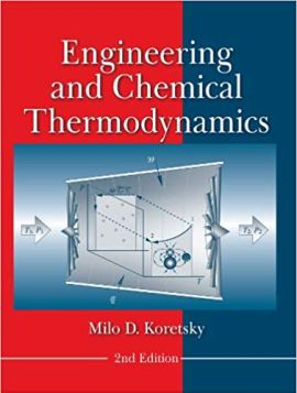 Engineering and Chemical Thermodynamics pdf