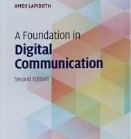 A Foundation in Digital Communication pdf