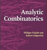 Analytic Combinatorics by Philippe Flajolet and Robert Sedgewick pdf