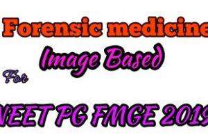 Forensic Medicine Image Based Revision For NEETPG FMGE PDF