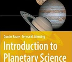 Introduction to Planetary Science The Geological Perspective pdf