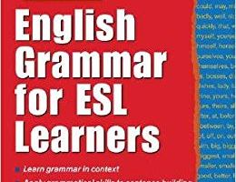 English Grammar for ESL Learners pdf
