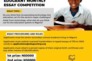 Edugrant Essay Competition 2020