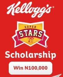 Kellogg's SuperStars Scholarship Contest 2020   Win N100,000
