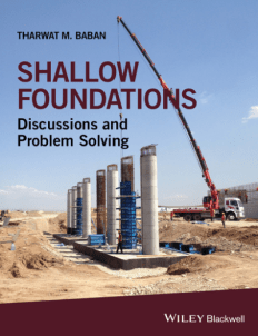Shallow Foundations Discussions and Problem-Solving PDF