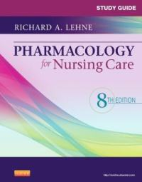 Study Guide for Pharmacology for Nursing Care PDF