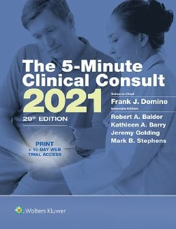 The 5-Minute Clinical Consult 2021 PDF