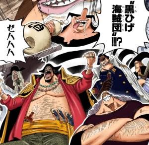 黒ひげ海賊団の画像