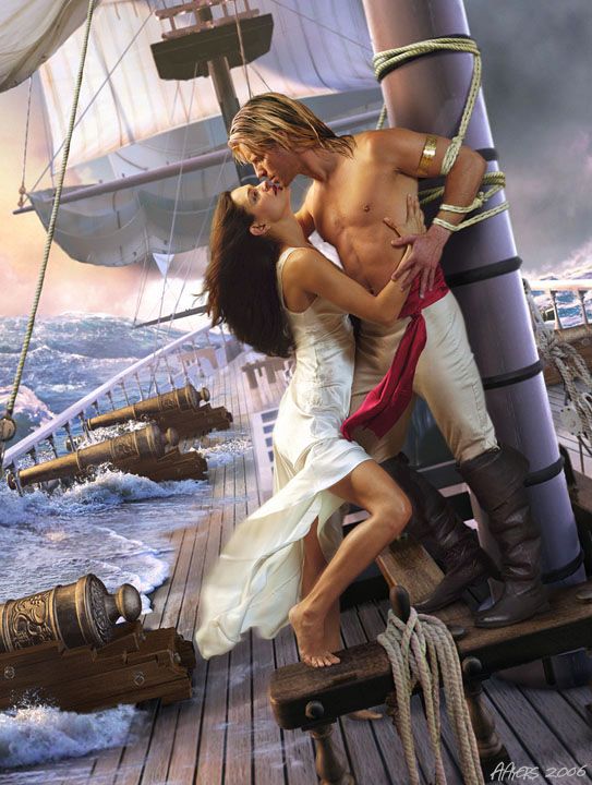 To ALL Romance Novel Cover Artists: Happy Valentine's Day! (3/6)