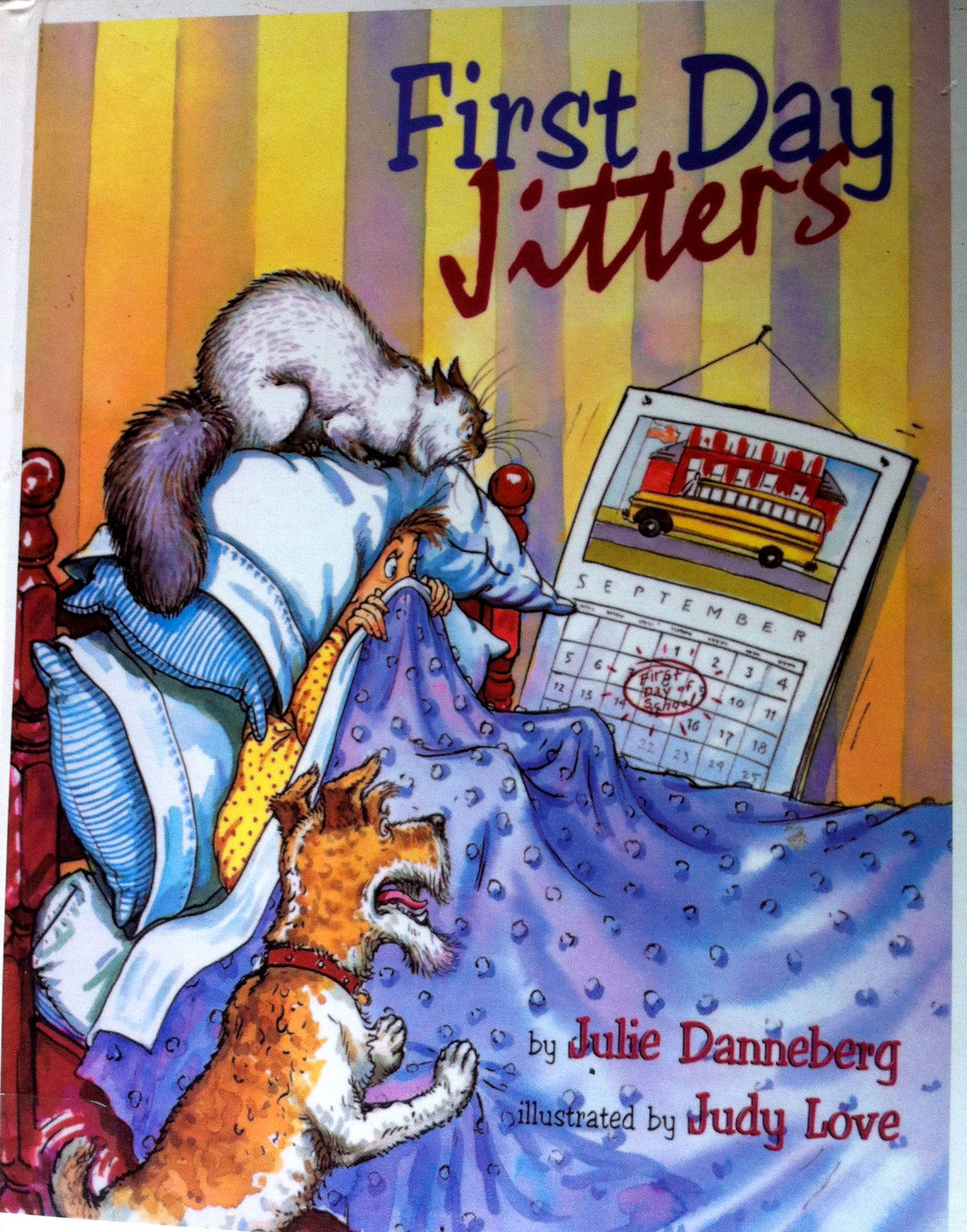 First Day Jitters Book Review