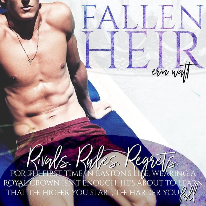My Book Review FALLEN HEIR by Erin Watt – Bookworm Between the Sheets