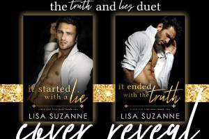 Cover Reveal TRUTH AND LIES DUET by Lisa Suzanne