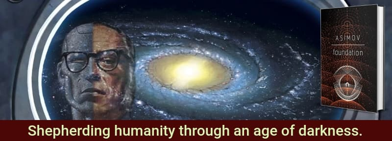 """Foundation"" by Isaac Asimov (Header image)"