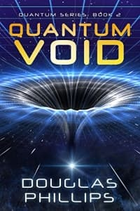"""Quantum Void"" by Douglas Phillips (Book cover)"