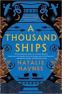 """A Thousand Ships"" by Natalie Haynes (Book cover)"