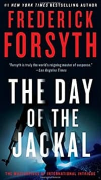 """The Day of the Jackal"" by Frederick Forsyth (Book cover)"
