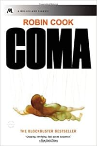 """""""Coma"""" by Robin Cook (Book cover)"""
