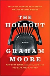 """""""The Holdout"""" by Graham Moore (Book cover)"""