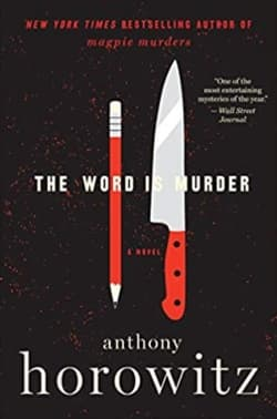 """""""The Word is Murder"""" by Anthony Horowitz (Book cover)"""