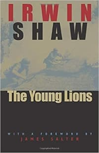 """""""The Young Lions"""" by Irwin Shaw (Book cover)"""